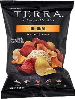 Terra Chips Exotic Vegetable Chips - Original - Case of 24 - 1 oz.