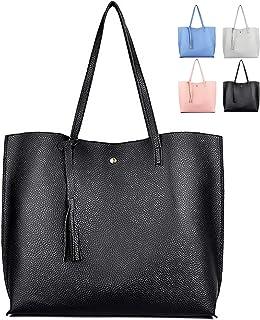 ZhengYue Handtasche Damen Tasche Schultertasche PU Leder Tasche Handtaschen Shopper Shopping Bag Umhängetasche für Alltag ...