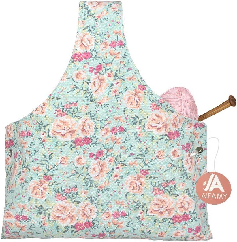 Travel Max New sales 72% OFF Knitting Yarn Storage Bag Tote Crochet Organizer for