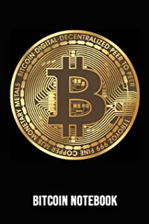Bitcoin Notebook: Bitcoin Investing Journal For Crypto Lovers (Lined, 6 x 9)