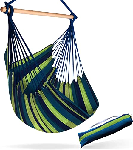 Sky Large Brazilian Hammock Chair - Best Hammock For Bed Replacement