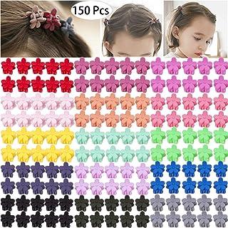 150 Pieces Little Baby Girls Hair Bangs Mini Hair Claw Clip Hair Pin Hair Accessories Clips for Girls,Teens, Kids, Toddler...
