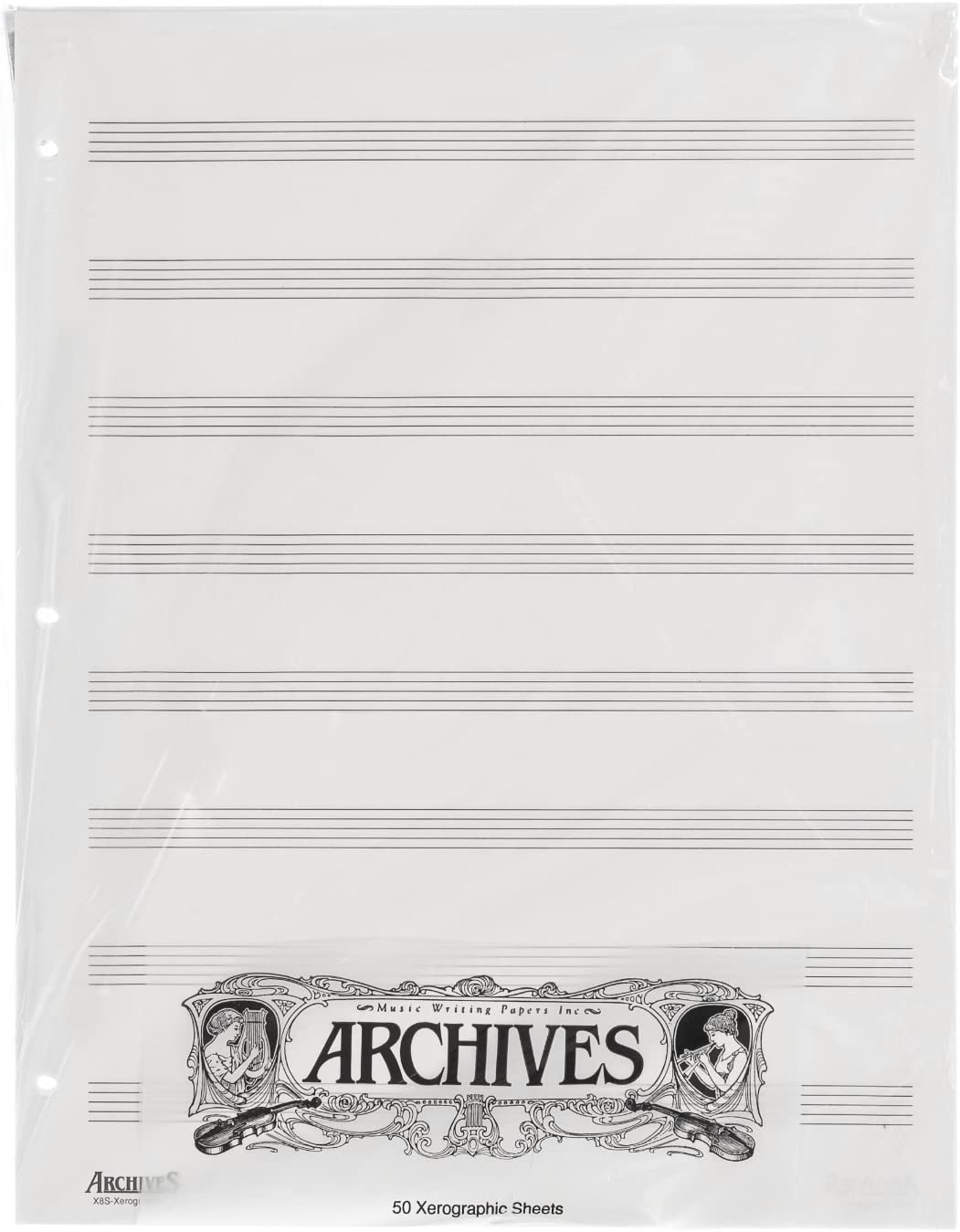 Archives Looseleaf half Xerographic Manuscript Sales for sale Paper Pag Stave 8 50