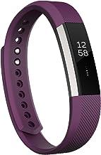 Fitbit Alta Fitness Tracker, Silver/Plum, Small (5.5 - 6.7 Inch) (US Version)