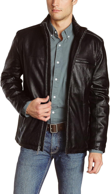 Laverapelle Men's Black Genuine Lambskin Leather Jacket - 5135