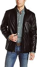 Laverapelle Men's Genuine Lambskin Leather Jacket (Black, Classic Jacket) - 1501135