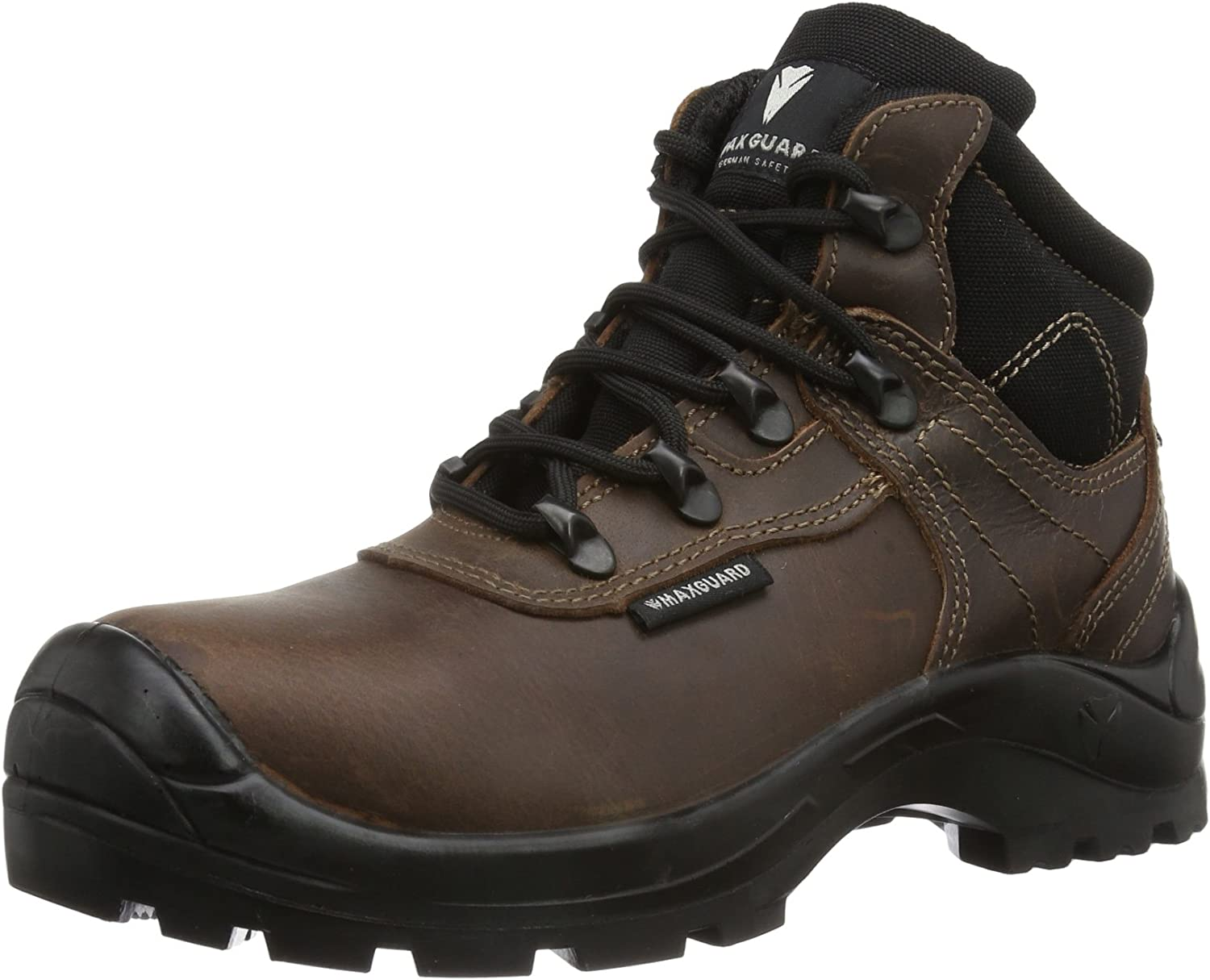 Maxguard Clint, Unisex Adults' Safety shoes Brown