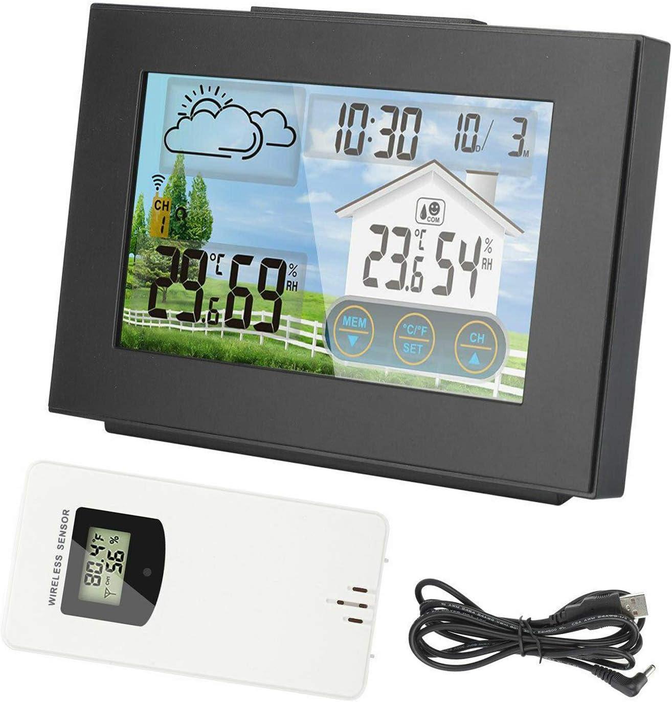 Japan's largest assortment Gazechimp Digital LCD Indoor Outdoor Calen Clock Product Station Weather