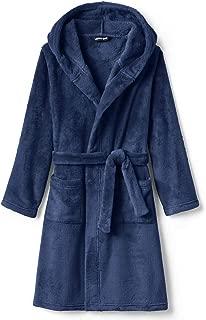 Lands' End Kids Hooded Fleece Solid Robe