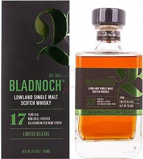 Bladnoch 17 Years Old Lowland Single Malt Scotch Whisky 46,70% 0,70 Liter
