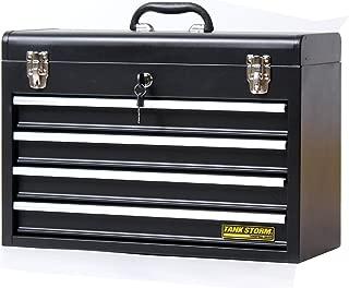 Mobile Storage Tool Job Box Heavy Duty Lockable Latches Large Gear Cart Husky