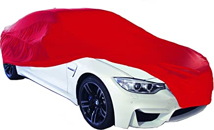 Cosmos Indoor Garage Car Cover Medium Red 10366