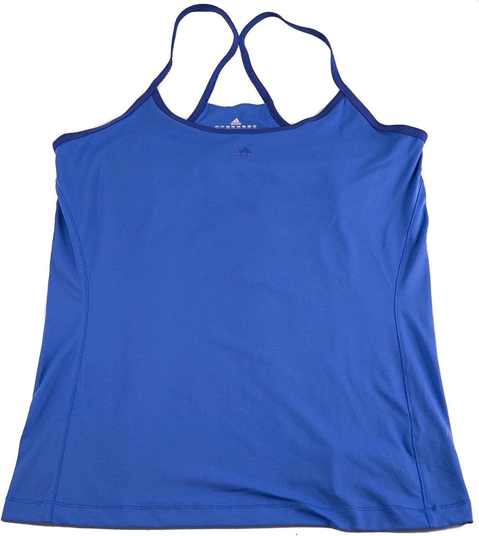 Adidas Womens Adifit Tank Top Sports Athletics bluee Purple
