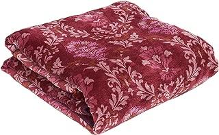山善(YAMAZEN) 電気掛け敷き毛布 ぐっすりタイマー (130×188cm) シングル YMK-S13180(R) レッド