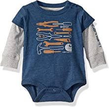Carhartt Baby Boys Layered Bodysuit
