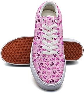 SERXO Breast Cancer Womens Skateboarding Shoes Ladies Sneakers