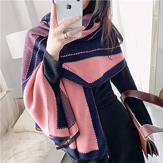 Schal Animal Print Winter Kaschmir Schal Frauen Dicke Warme Tücher Und Wraps Brand Horse Printed Blanket Cape Schals