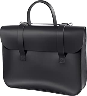 Oxford Traditional Leather Traditional Classic Leather Music Case (MC1-BK)
