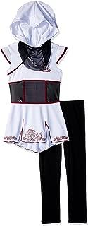 Girls White Fearless Ninja Costume