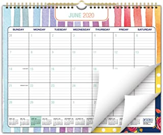 """2020-2021 Wall Calendar - 12""""x15"""" - Colorful, Vibrant, Fun and Fashionable Monthly Calendar (Runs from July 2020 Through D..."""