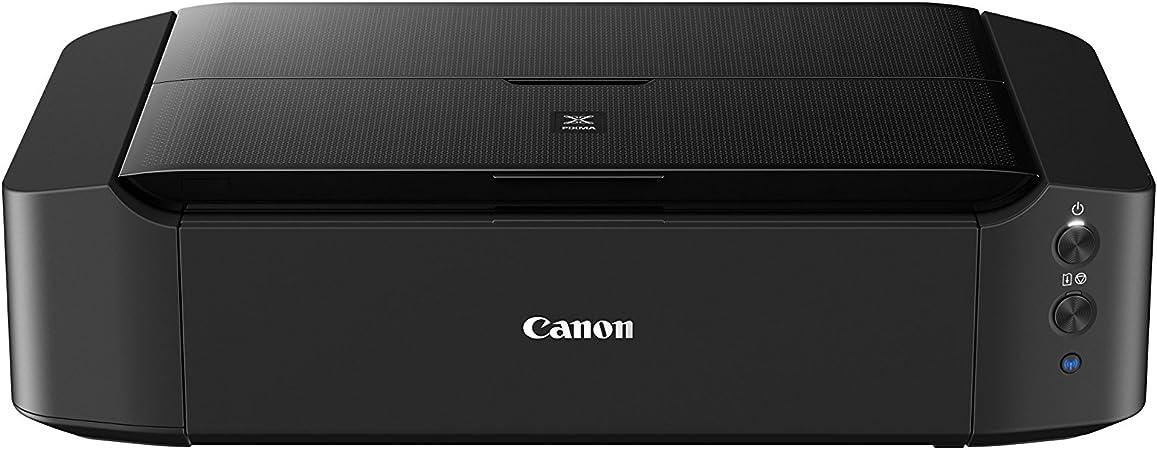 -Canon PIXMA iP8750 printer, kleureninkstraal, multifunctioneel apparaat, DIN A3+, kantoorprinter, fotodruk, 9.600 x 2.400 dpi, WiFi, WiFi, USB, Cloud-Link, 6 aparte inkt), zwart-aanbieding