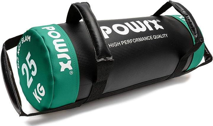 Sandbag 5 kg 10 kg 15 kg 20 kg 25 kg 30 kg - perfetta per migliorare equilibrio powrx B078HX6ZFT