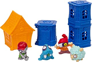 Zomlings Blister 4 Figures/3 Towers & House (Series 1)