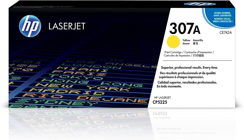 HP 307A   CE742A   Toner-Cartridge   Yellow