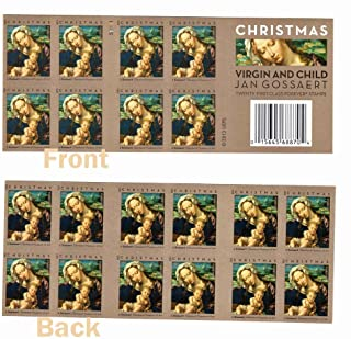 USPS Forever Postage Stamps Christmas Holiday Virgin & Child -- Booklet of 20