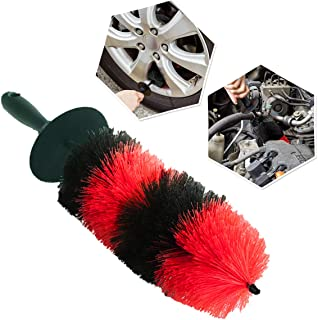"Zone Tech Master Wheel Brush - Premium Quality Durable Multipurpose Wheel and Rim Detailing 18"" Brush Perfect Also for Motorcycles"