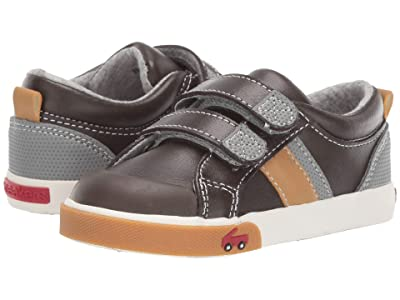 See Kai Run Kids Russell (Toddler/Little Kid) (Brown Leather) Boys Shoes