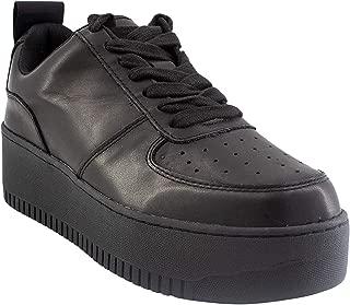 Steve Madden Women's Vengeance Leather Ankle-High Fashion Sneaker