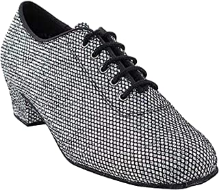 """Womens Ballroom Dance Shoes Party Salsa Practice Shoes 2001EB Comfortable -Very Fine 1.5"""" {Bundle of 5}"""