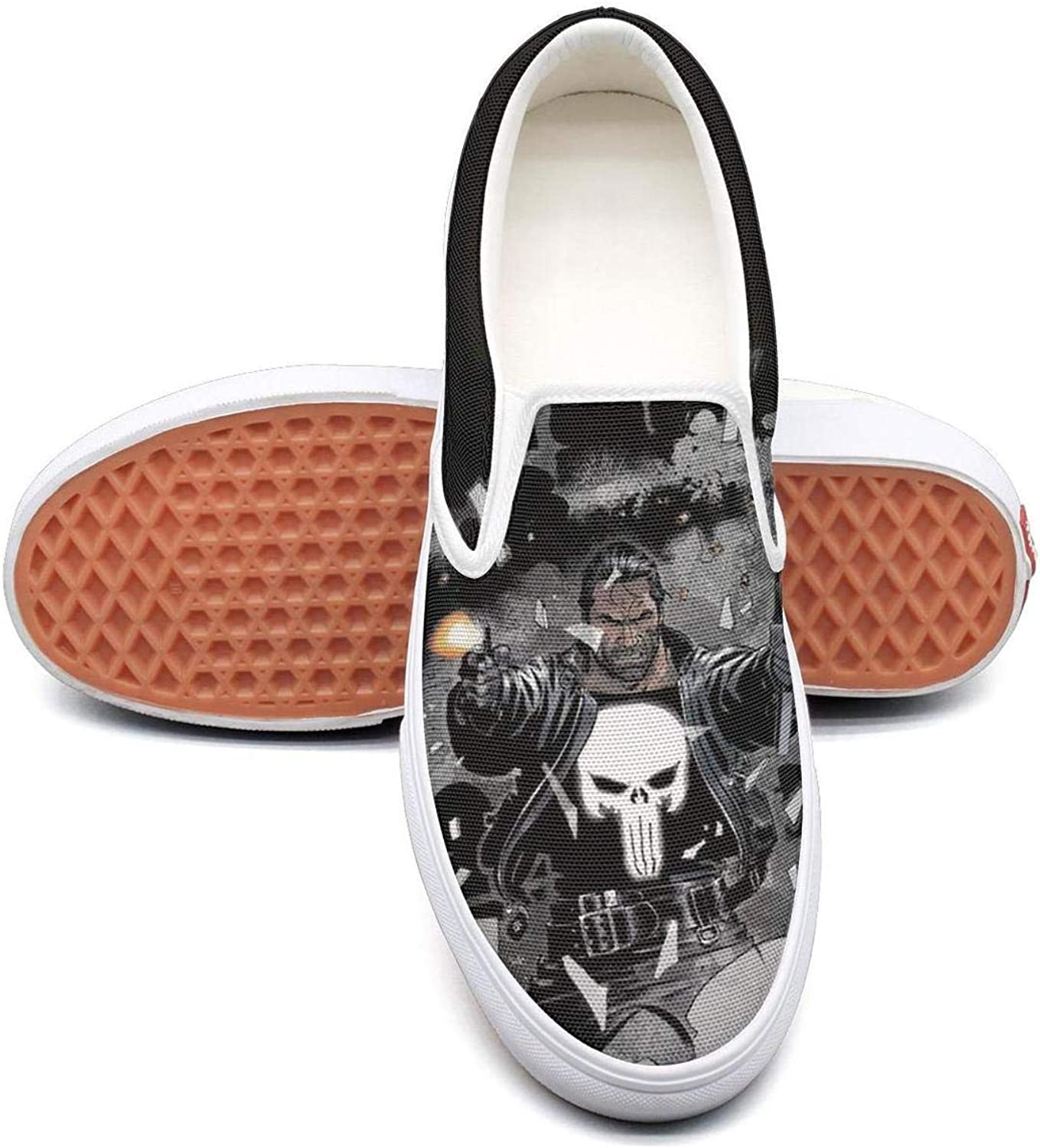 Womens Red-Blood-pop-Punisher- Walking shoes for Mens Spring Male Running shoes