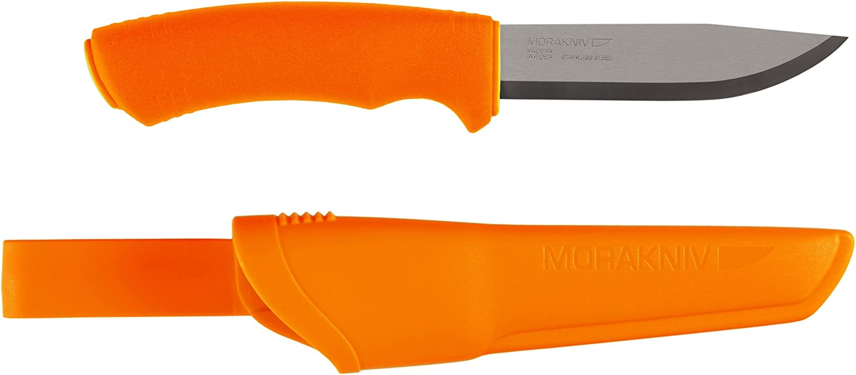 Morakniv 4 years warranty Bushcraft Fixed Blade Knife Stee Sandvik Stainless with New life