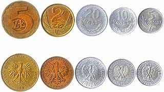 هواية الملوك عملات مختلفة - العملات الأجنبية البولندية القديمة القابلة للتحصيل لجمع الكتب - مجموعات فريدة من المال التذكار...