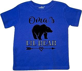 Oma Lil Bear Cub Grandson Toddler T-Shirt