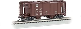 Bachmann Industries PS-2 Two-Bay Covered Hopper Santa Fe Vehicle (HO Scale)