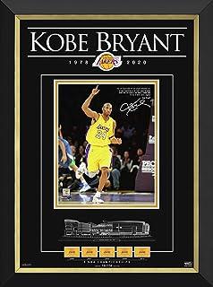 Kobe Bryant NBA Icon Limited Edition Tribute of 224 - Facsimile Signature
