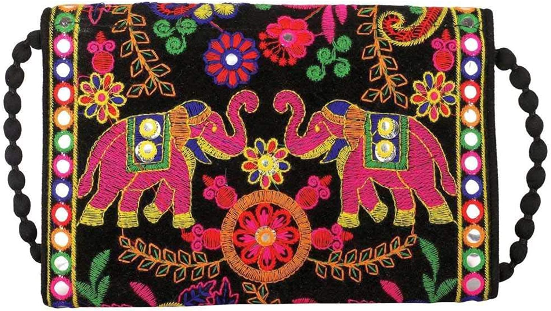 Wholesale 50 pc lot Bulk Indian Vintage Hand Bag Traditional Bridal Clutch Beaded Shoulder Bag potli Pouch Hand Bag Purses Women Purse by Panchal Creation-82