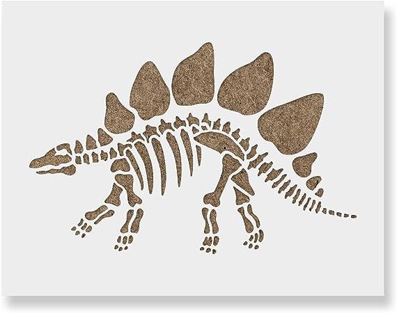 A5 /'Party Dinosaur/' Wall Stencil WS00001984 Template