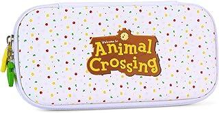 حقيبة حمل لجهاز نينتندو سويتش لايت - حقيبة سفر نحيفة محمولة بتصميم Animal Crossing تناسب وحدة التحكم وأكسسوارات الألعاب (أ...