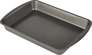Goodcook Non-Stick Lasagna and Roast Baking Pan, 14 Inch x 10 Inch, Silver