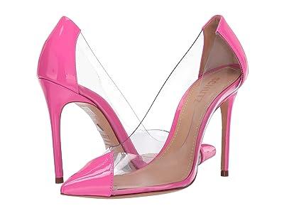 Schutz Cendi (Neon Pink Vinil/Verniz) High Heels