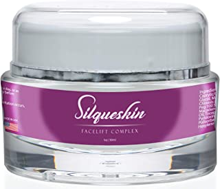 Silqueskin Facelift Complex- Premium Anti-Aging Day & Night Moisturizer For All Skin Types- Promote Collagen Production and Reduce Fine Lines and Wrinkles