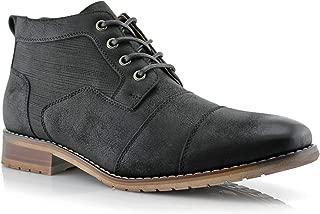 Best mens short zipper boots Reviews
