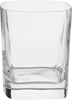 Luigi Bormioli, us kitchen, LUIG9 09833/06 Strauss 11.75 oz Double Old Fashion Glasses, Set of 6, Clear