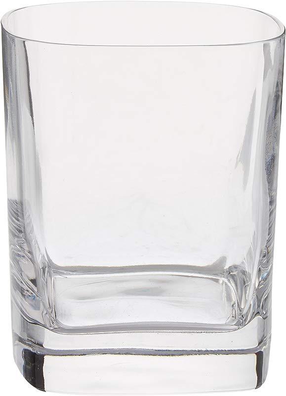 Luigi Bormioli Us Kitchen LUIG9 09833 06 Strauss 11 75 Oz Double Old Fashion Glasses Set Of 6 Clear