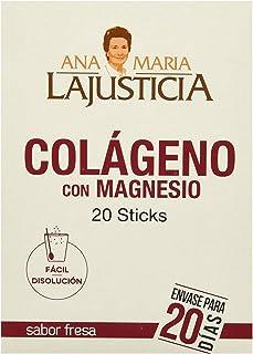 Ana Maria Lajusticia - Colágeno con Magnesio (20 sticks) - Sabor fresa