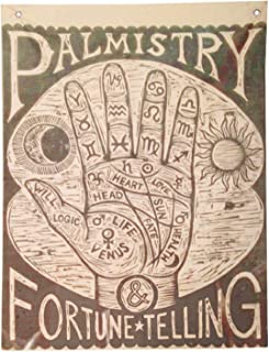 Fortune Teller Palmistry Halloween Carnival Circus Hanging Wall Decoration